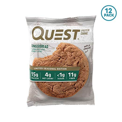 Quest Nutrition Protein Cookie (Gingerbread)