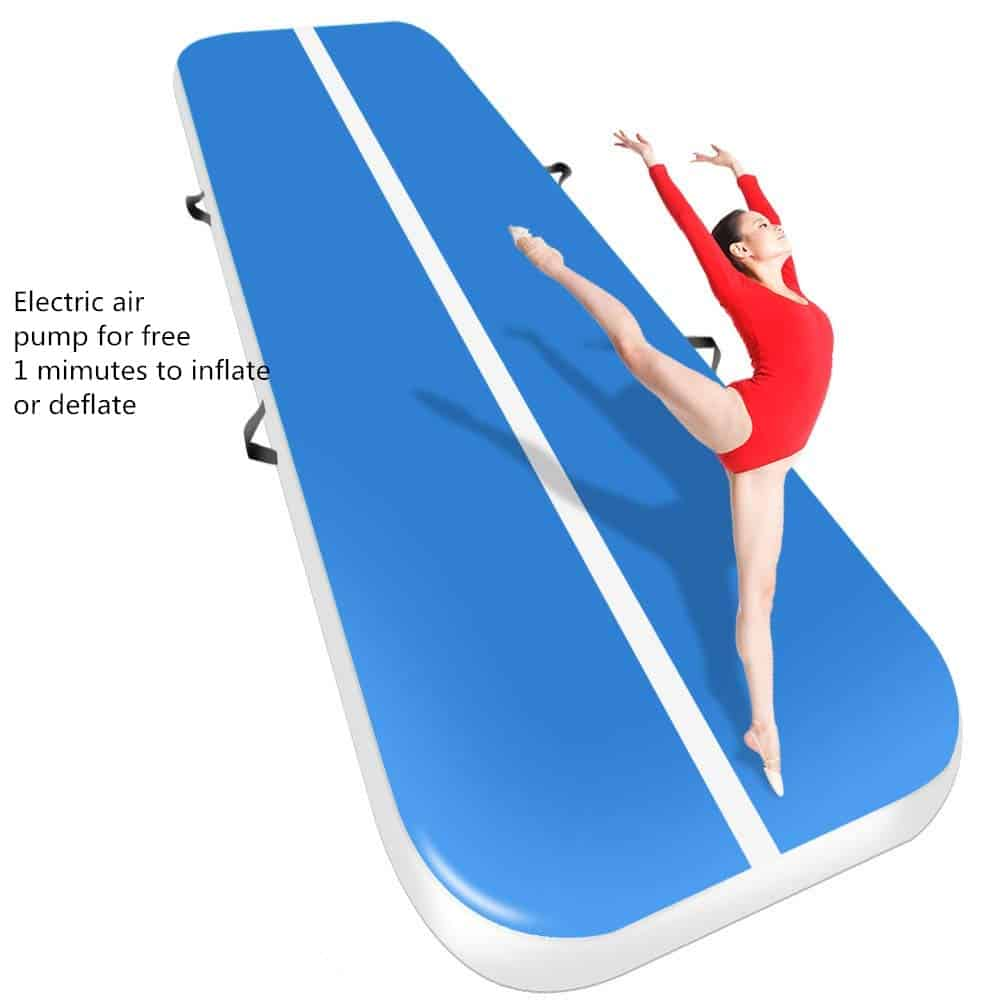 Air Track Mat With Electric Air Pump