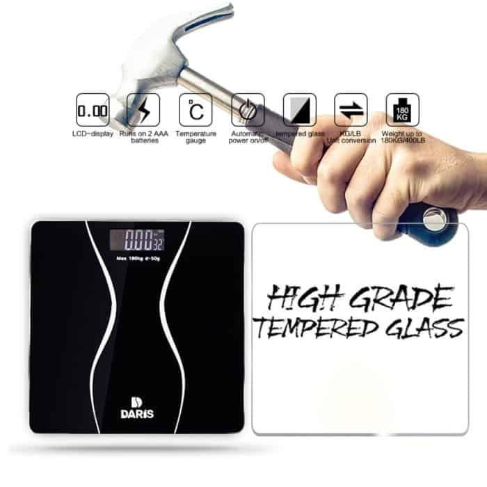 Digital Weight Scale LCD Display