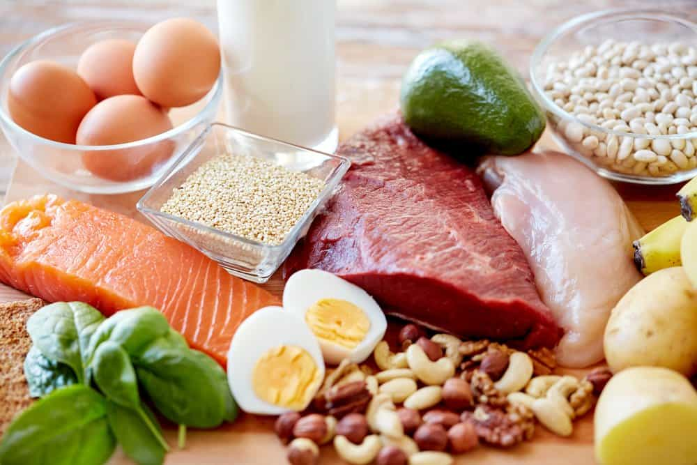 high protein foods preparation for body building